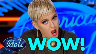 KATY PERRY Left Speechless By These Original Song Auditions On American