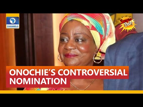 Onochie's Nomination For INEC Role Not In Nigeria's Interest