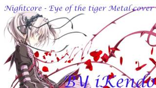 Eye of the Tiger metal cover by Leo Moracchioli (feat  Rob Lundgren nightcore v2)