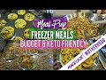 Meal Prep Freezer Meals Meal Plan Cook With Me Sunday Setup Keto Diet mp3