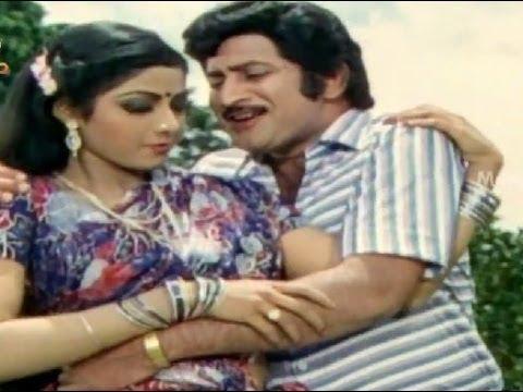 Ramarajyamlo Beemaraju Movie Songs - Yenado Neeku Naaku Song - Krishna, Sridevi