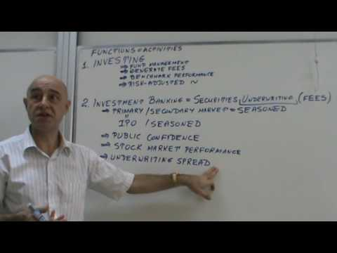 Financial Markets and Institutions - Lecture 33