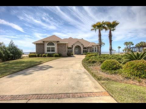 Waterfront Home In Private Area - Freeport, Florida Real Estate For Sale