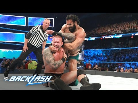 Randy Orton vs. Jinder Mahal - WWE Title Match: WWE Backlash 2017 (WWE Network Exclusive)