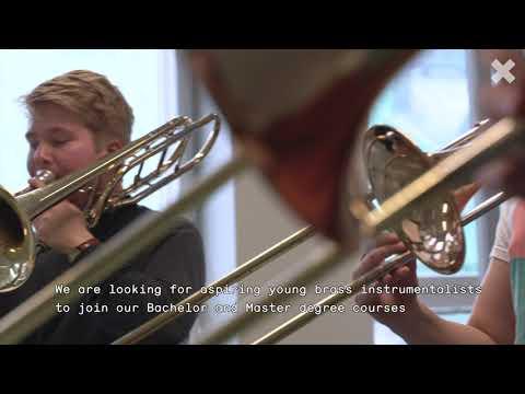 Sibelius Academy, Uniarts Helsinki; Brass Education Presentation