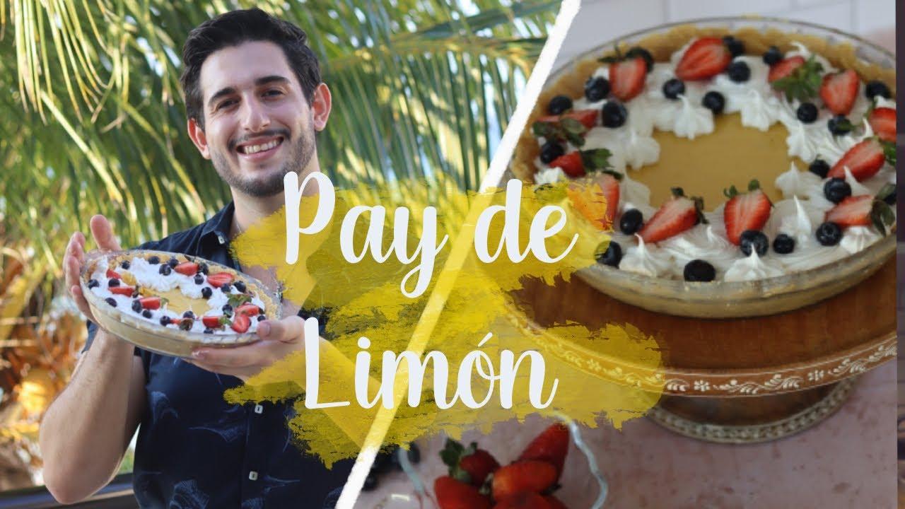 ✅ Postre SIN HORNO Pay de Limón Especial ❤️