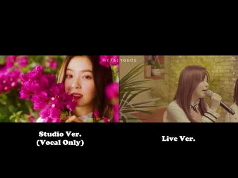 Red Velvet - Would U (Studio Ver. VS Live Ver.)