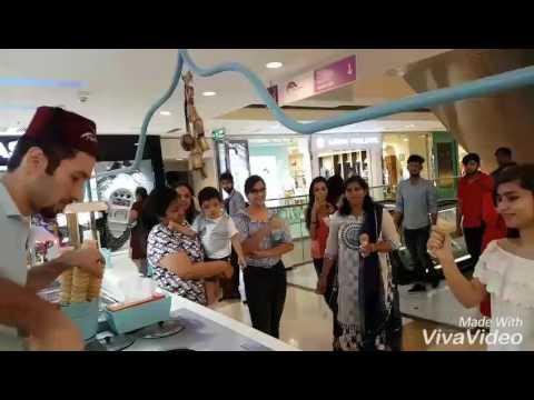 Turkish  ice cream Dlf mall of india