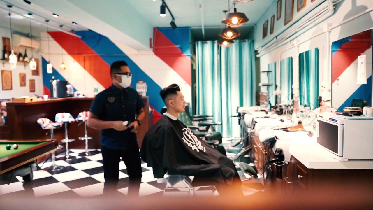 fendi barbershop Hong Kong - YouTube