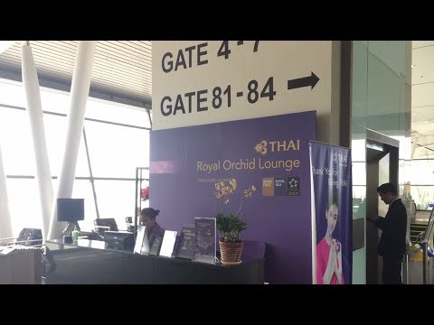 Thai Royal Orchid Lounge (Star Alliance Gold) in Phuket airport HKT