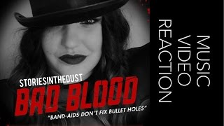 BAD BLOOD MUSIC VIDEO REVIEW & GIVEAWAY | storiesinthedust