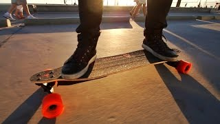 Repeat youtube video Skateboard Speed Record at the Beach
