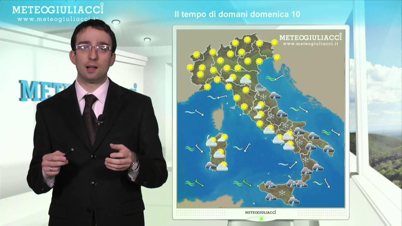 Meteo Di Domani Domenica 10 Febbraio 2013 Youtube