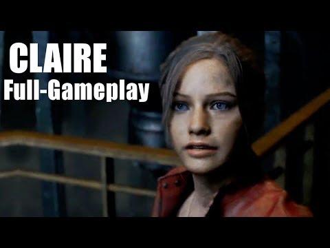 Resident Evil 2: Claire b Full-Gameplay