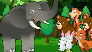 Elephant and Friends Story for Kids | Moral Story's for Children's in English