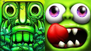Zombie Tsunami Super Robot vs Temple Run 2 Full Gameplay For Children