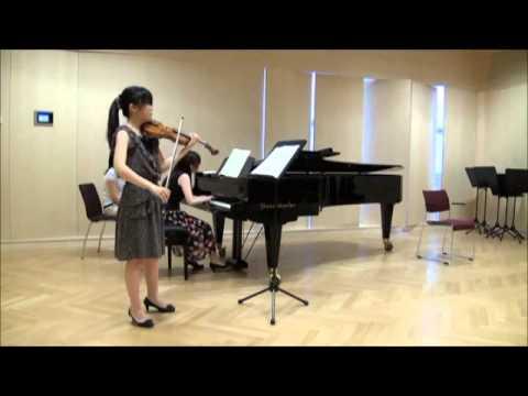Beethoven Violin Sonate No7 c-moll Op.30 No.2 2nd Movement Adagio cantabile