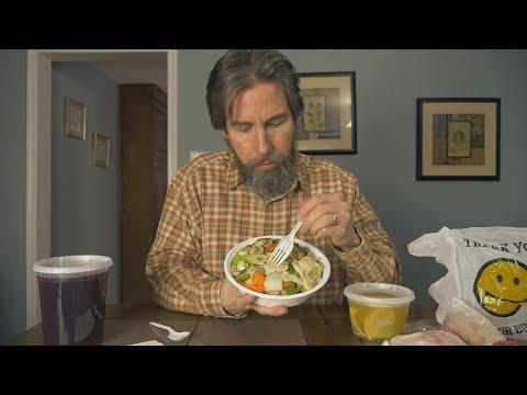 ASMR Let's Eat Chinese Food (Moo Goo Gai Pan)