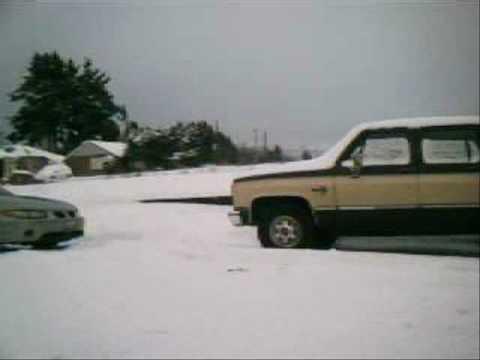 CHRISTMAS SNOW 2008 kelso longview washington