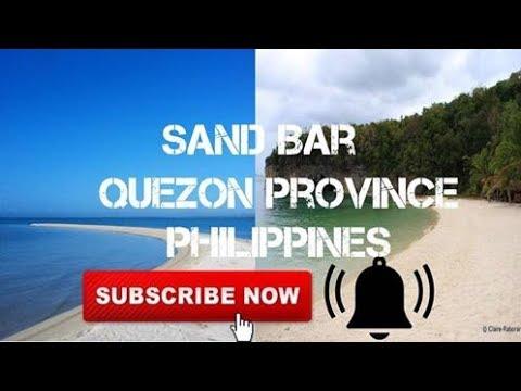 Sand Bar Quezon Province (Pagbilao)