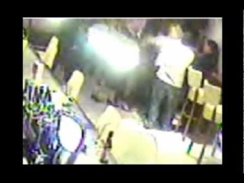 CCTV footage of attack on Donal MacIntyre