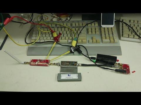RTLSDR, TVsharp 2.4 Ghz video receiver moded SUP-2400 & pga-103 LNA