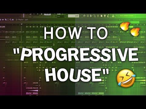 "How to make ""Progressive House"" | Free FLP"