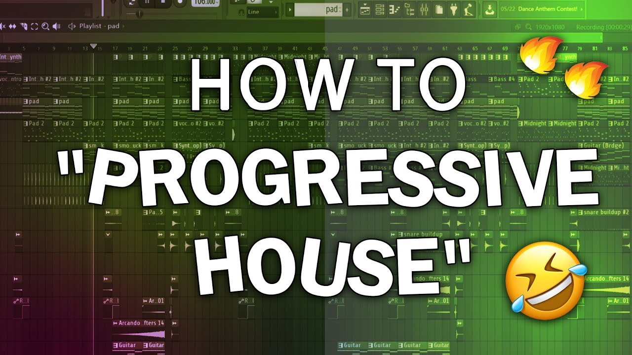 "How to make ""Progressive House"" 