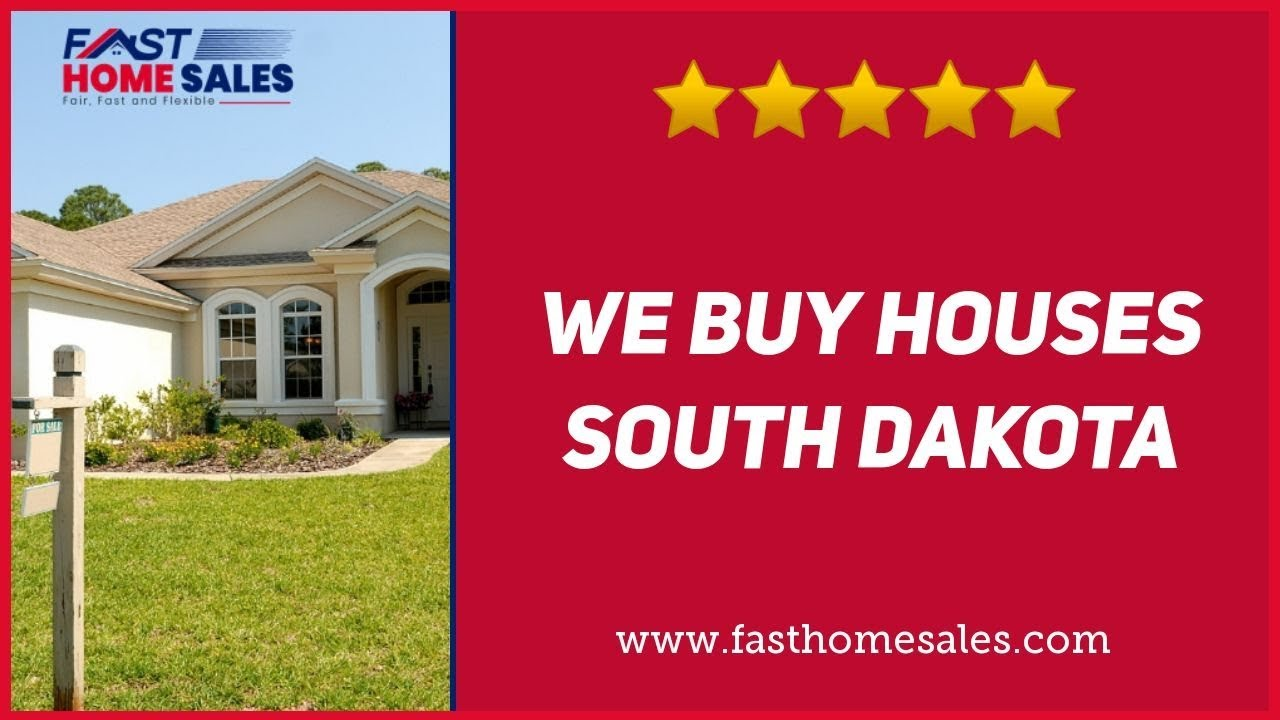 We Buy Houses South Dakota - CALL 833-814-7355