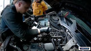 Удаление ЕГР и вихревых заслонок на BMW X5