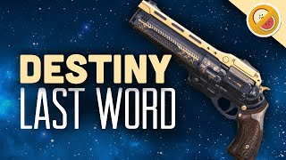DESTINY The Last Word Fully Upgraded Exotic Review OP (PS4 Gameplay Commentary) Funny Moments