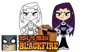 How to Draw Blackfire | Teen Titans GO (Art Tutorial)