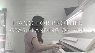 Piano For Brother ost Crash Landing On You - Winnie Oscar