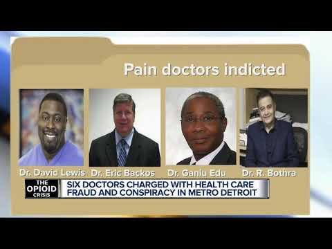 Six metro Detroit doctors allegedly took part in $500M opioid scheme