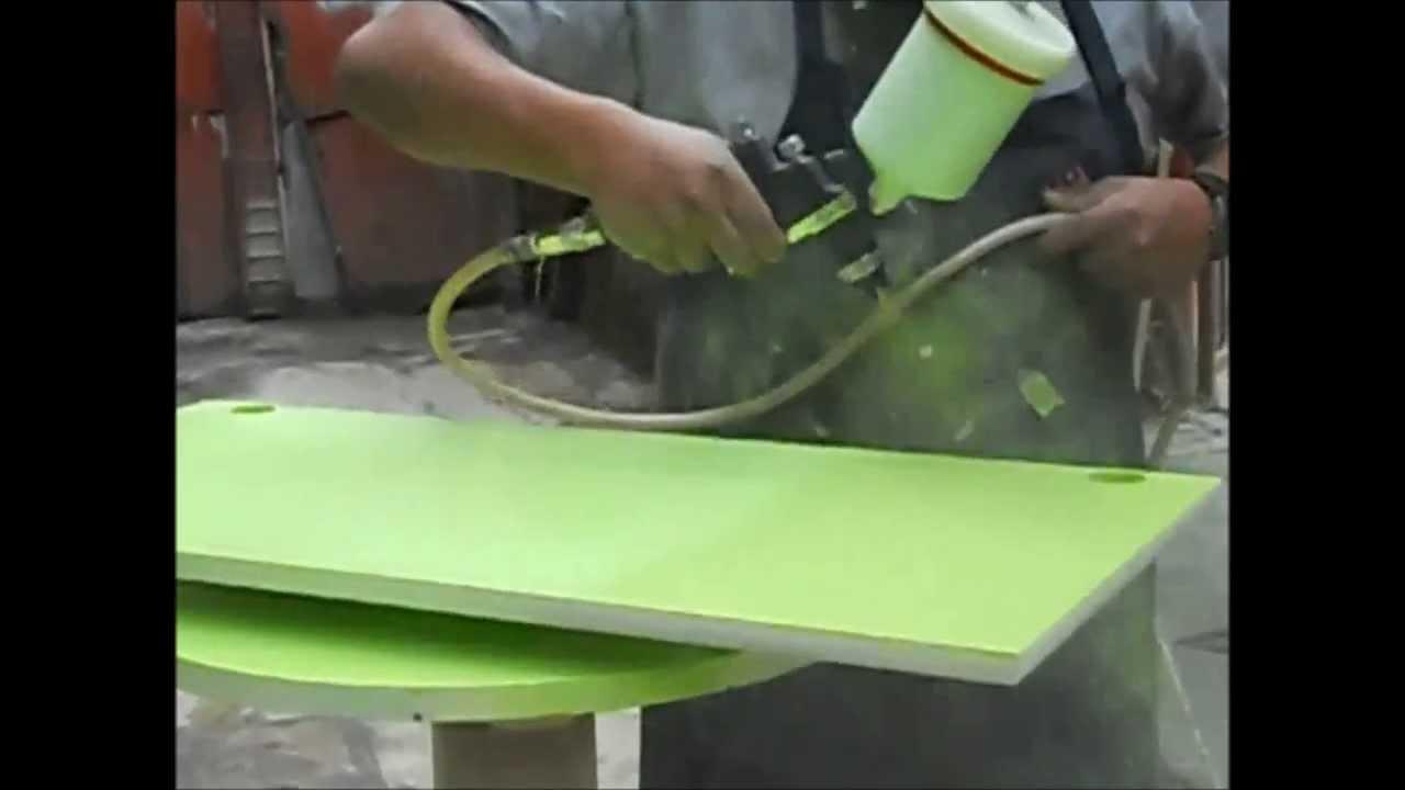Barniz con poliuretano en color cerrado de 2 componentes - Cocinas pintadas ...