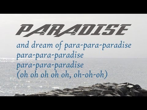 Coldplay Paradise lyrics