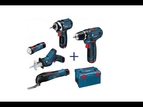 РоботунОбзор: Набор инструментов Bosch 108 V-LI 5-в-1