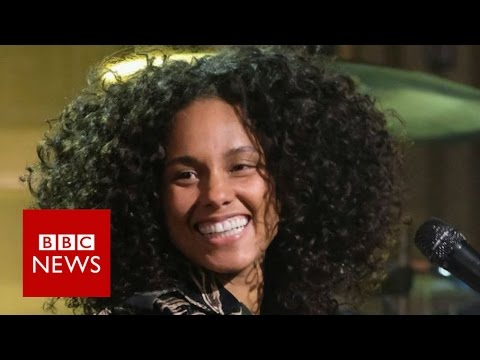 Alicia Keys: The 100 Women Interview - BBC News