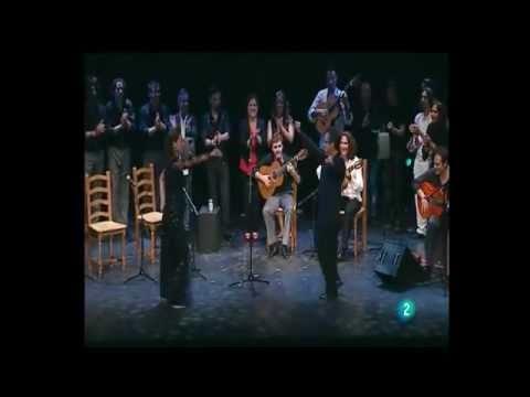 """Miguel Poveda,Marina Heredia,Argentina .... """"Fin de fiesta"""" - Flamenco por Lorca- 26.06.2011"""