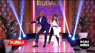 'RuPaul' with Paula Abdul!