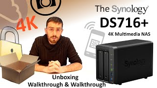 The Synology DS716+ NAS Unboxing, Walkthrough and Talkthrough from SPAN.COM