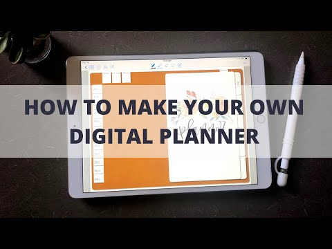 how-to-make-a-digital-planner-|-digital-bullet-journal-tutorial