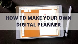 How to Make a Digital Planner | Digital Bullet Journal Tutorial