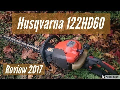 Husqvarna 122HD60 Hedge Trimmer Review