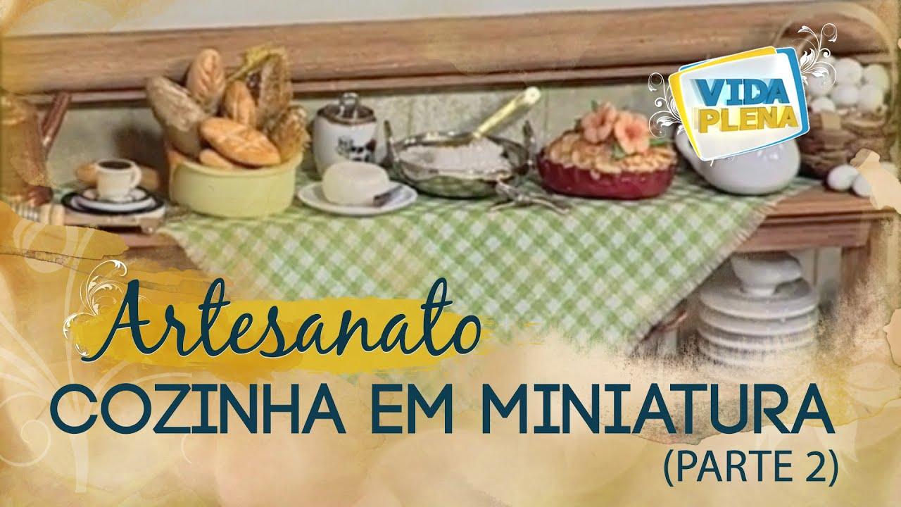 Distancia Entre Aparador Y Espejo ~ Artesanato Quadro de cozinha em miniatura T u00e2nia Bettini Parte 2 YouTube