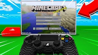 GIOCARE A MINECRAFT DENTRO UNA PS4 SU MINECRAFT!!