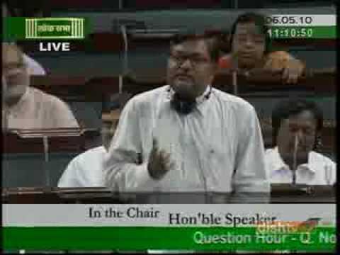 Jitin Prasad in Parliament Session Part-I