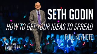 Seth Godin - How To Get Your  Deas To Spread - Nordic Business Forum