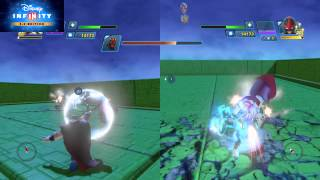 disney infinity 3 0 thor and nova vs darth maul and general grevious