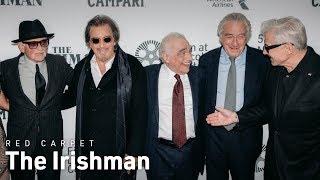 The Irishman World Premiere Red Carpet Interviews | NYFF57